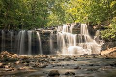 Brush Creek Falls Royalty Free Stock Photography
