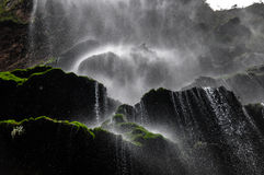 Beautiful Waterfall in Canyon of Sumidero, Mexico Royalty Free Stock Photography