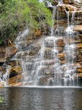 Beautiful waterfall at Chapada Diamantina National Park, Brazil Royalty Free Stock Photo