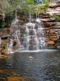 Beautiful waterfall at Chapada Diamantina National Park, Brazil Royalty Free Stock Image