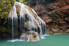 Beautiful Waterfall, Chiang Mai, Thailand Royalty Free Stock Photography