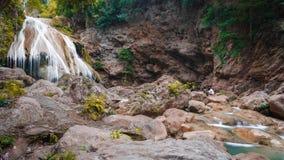 Beautiful Waterfall, Chiang Mai, Thailand Royalty Free Stock Image