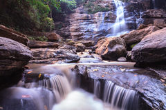 Beautiful Waterfall, Chiang Mai, Thailand Stock Image