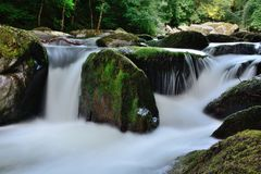 Beautiful waterfall Royalty Free Stock Photos