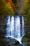 The beautiful waterfall in deep forest Royalty Free Stock Image