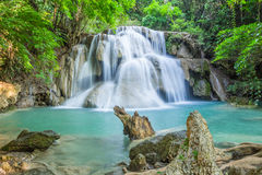 Beautiful waterfall in deep forest Royalty Free Stock Photography