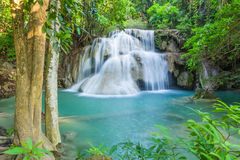 Beautiful waterfall in deep forest Royalty Free Stock Image