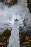 Beautiful waterfall in Dolomiti mountains Stock Images