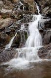Beautiful waterfall falling Stock Photos