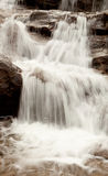 Beautiful waterfall falling Stock Image