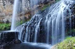 Beautiful waterfall in france Royalty Free Stock Photo