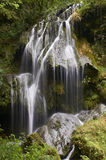 Beautiful waterfall in france on beautiful summer day Royalty Free Stock Image