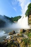 Beautiful waterfall in guiyang Stock Images
