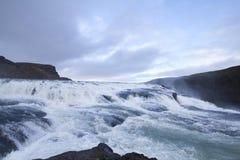 Beautiful Waterfall in Iceland Stock Photos