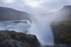 Beautiful Waterfall in Iceland Royalty Free Stock Photos