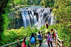 Beautiful  Waterfall In Taiwan Stock Photography