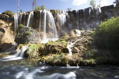 Beautiful Waterfall Royalty Free Stock Photography