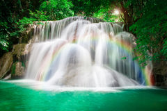 Beautiful Waterfall in the Jungle Royalty Free Stock Photo