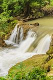 Beautiful waterfall in Khao Laem National Park, Thailand. Royalty Free Stock Photography