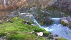 Waterfall on Talitsa river. Siberia stock photography