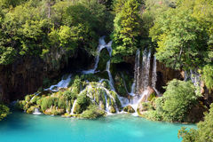 Beautiful waterfall landscape Royalty Free Stock Photography