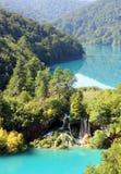 Beautiful waterfall landscape Stock Image