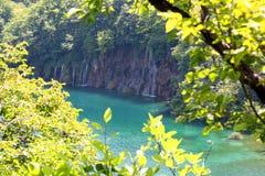Beautiful waterfall landscape Stock Photography