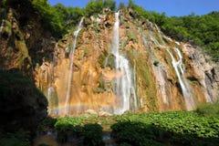 Beautiful waterfall landscape Royalty Free Stock Image