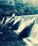 Waterfall loving royalty free stock photos