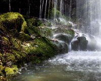 Beautiful waterfall in Macedonia Stock Photos