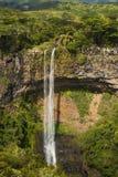 Beautiful waterfall in Mauritius Stock Image