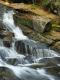 Beautiful Waterfall in Mount Rainer National Park royalty free stock photo