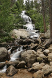 Beautiful Waterfall at Mount Whitney in California Stock Image