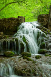 Beautiful waterfall in mountain area Royalty Free Stock Photo