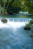 Beautiful waterfall in Munich Royalty Free Stock Photography