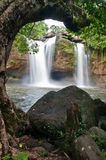 Beautiful waterfall in national park Royalty Free Stock Images