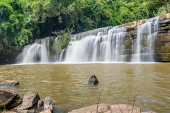 Beautiful waterfall in national park, Thailand Stock Photography