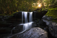 Beautiful waterfall in New South Wales, Australia. Somersby Waterfalls in New South Wales, Australia Stock Photos