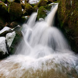 Beautiful Waterfall Stock Photography