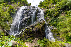 Beautiful waterfall in rain forest, Klong Lan National Park in Kampangpetch, Thailand Royalty Free Stock Photo