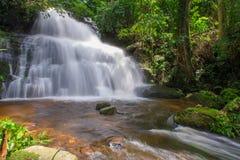 Beautiful waterfall in rainforest at phu tub berk mountain  phet. Beautiful waterfall in rainforest at phu tub berk mountain phetchabun, Thailand. & x28;Mun Dang Royalty Free Stock Images