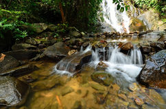 Beautiful waterfall Stock Images