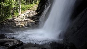 Beautiful waterfall with sound Stock Photos