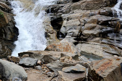 Beautiful waterfall in Sri Lanka Stock Image