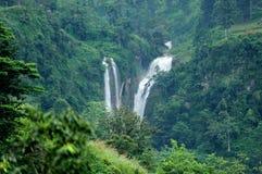 Beautiful waterfall in Sri Lanka Royalty Free Stock Photography