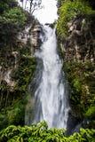 Beautiful waterfall in Sumatra Stock Photo