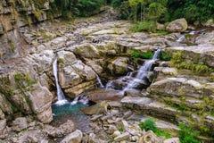 Beautiful waterfall in taichung, taiwan Stock Photos