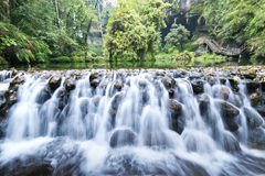 Beautiful waterfall in Taiwan Royalty Free Stock Photography
