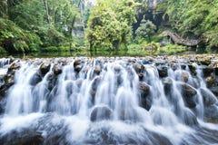 Beautiful waterfall in Taiwan Royalty Free Stock Photography