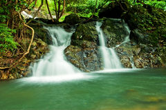 Beautiful waterfall in Thailand Royalty Free Stock Images